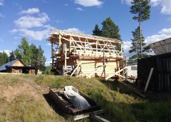 Начало строительства нового жилого дома на кордоне «Максимовский»